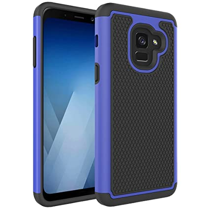 premium selection a5540 c3976 Samsung Galaxy A8 2018 Case, OEAGO [Shockproof] [Impact Protection] Hybrid  Dual Layer Defender Protective Case Cover for Samsung Galaxy A8 2018 (2018  ...