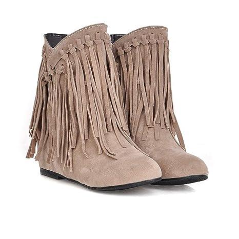 DANDANJIE Zapatos De Mujer Botas De Tobillo Otoño Botines ...