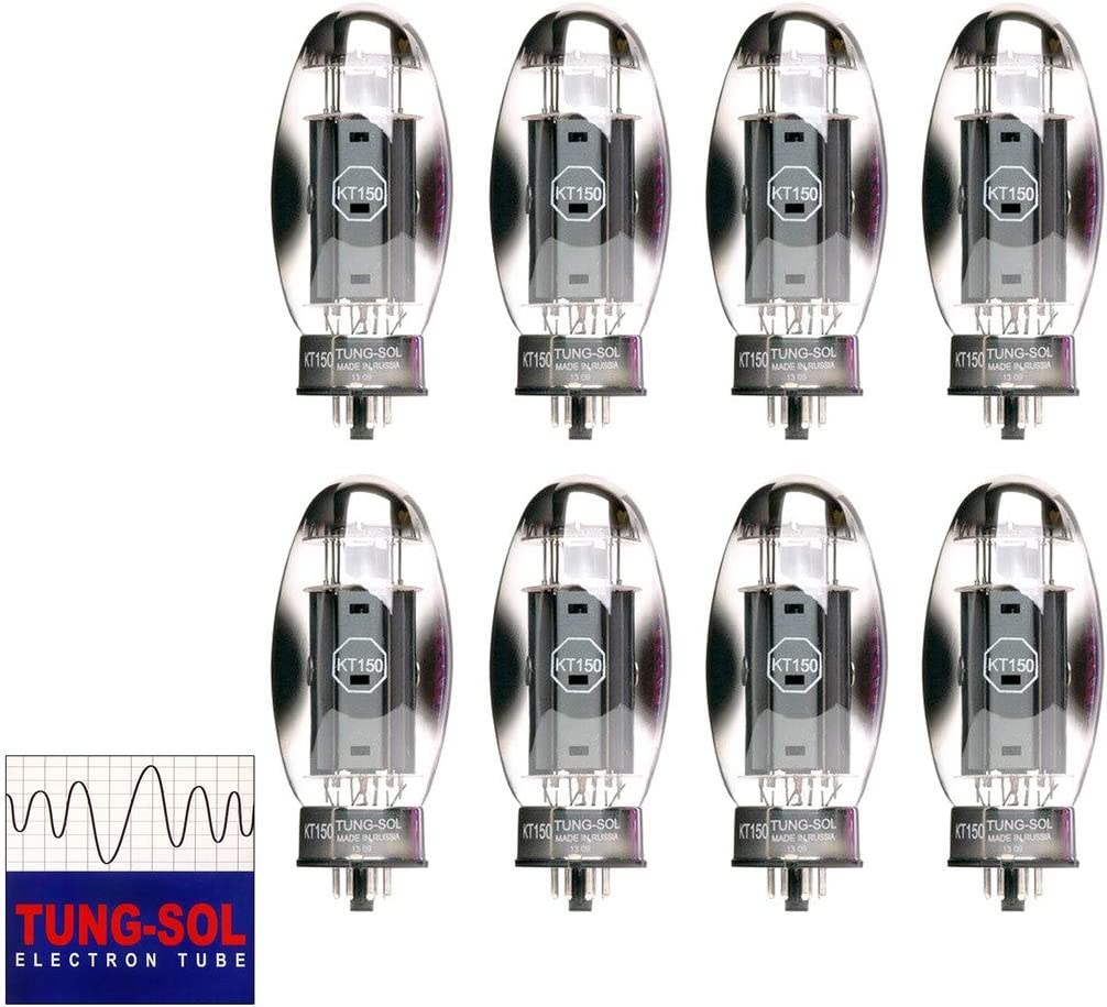 Vacuum Tubes Brand New Tung-Sol KT150 KT-150 Plate Current Matched Pair 2