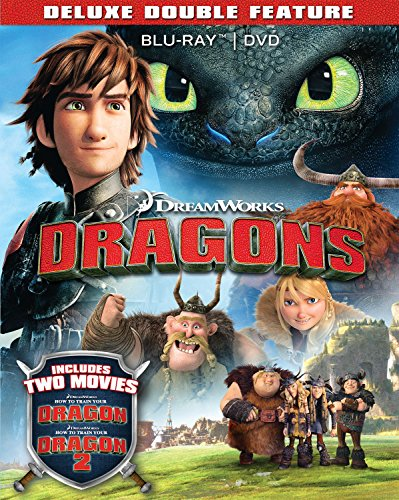 Dragons Deluxe Double Feature (How to Train Your Dragon / How to Train Your Dragon 2) (Blu-ray + DVD))