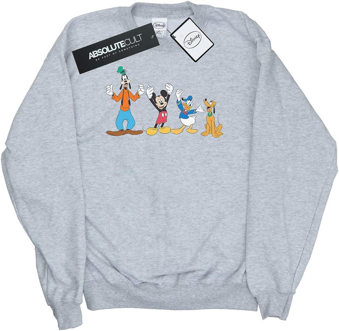 Disney Boys Mickey Mouse Friends Sweatshirt