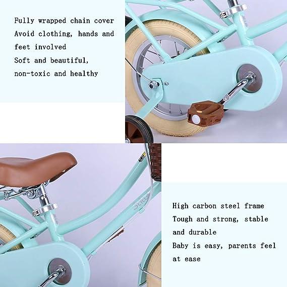 Bicicletas niños 12 Pulgadas Boy Girl Scooter Mint Green Nueva 2-8 ...