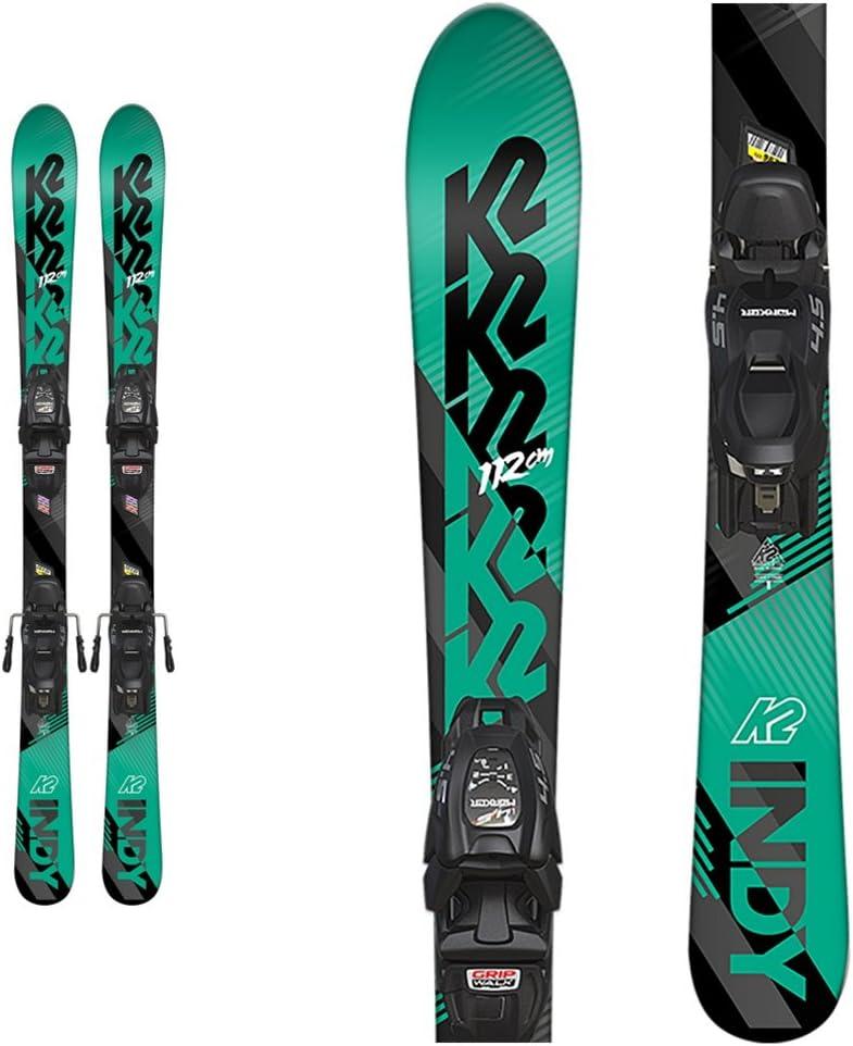 k2 Indy子供用スキーFDT 7.0バインディング  124cm