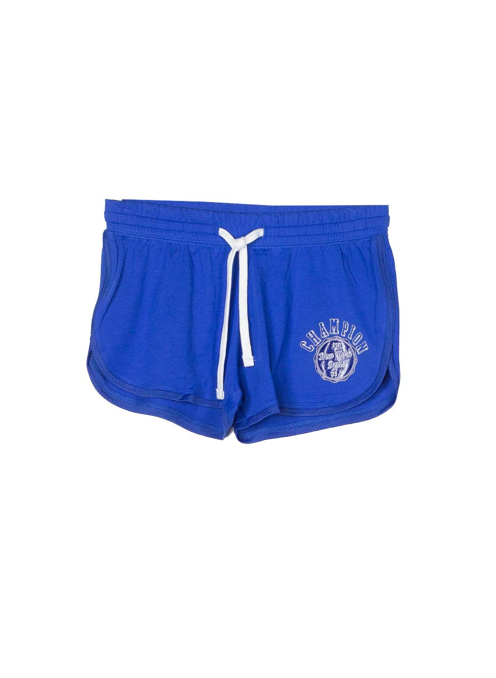 TALLA L. Champion Short Mujer Light Cotton Jersey Gr.150 Azul Royal (Blue Royal dzb)