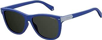 Polaroid Square Sunglasses for Unisex - Grey