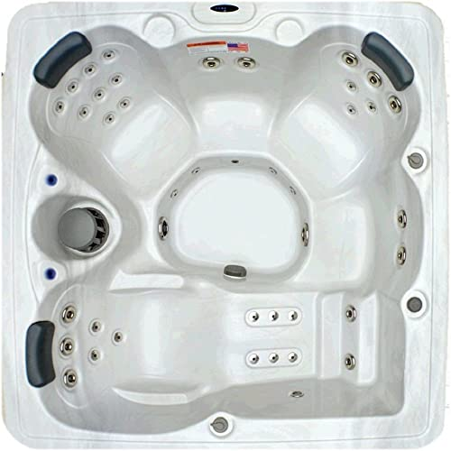 Essential Hot Tubs 22-Jet Cape Town Hot Tub, Seats 4-5, Cobblestone