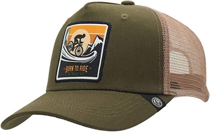 The Indian Face Ciclismo Gorra Born to Ride Hombre y Mujer, Color ...
