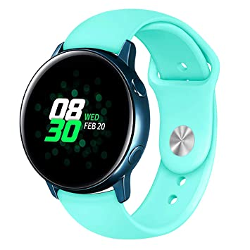 SongNi® for Samsung Galaxy Watch Active Straps Correas Soft ...