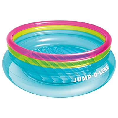 """Intex Jump-O-Lene Inflatable Bouncer, 80"""" x 27"""", for Ages 3-6, Colors May Vary: Toys & Games"""