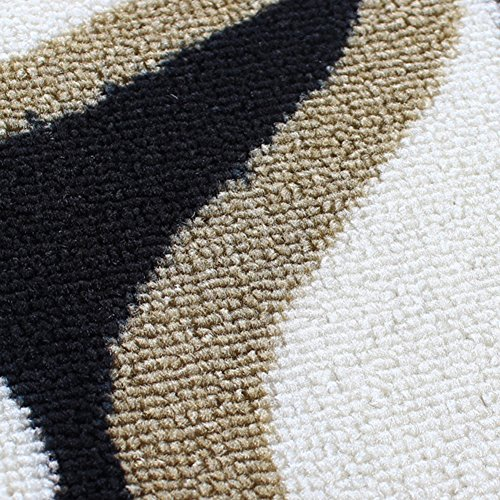 NRQU Door mat,Gate pad,Rug,Living room,Tea table,Den pad,[absorbent],Non-slipping blanket,Indoor mat,[child],Bedroom,Environmental mats-A 80x160cm(31x63inch) by NRQU (Image #2)