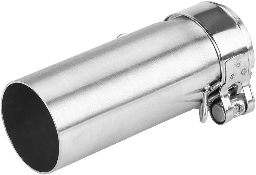 connettore di collegamento per tubo centrale di scarico per moto per Z250 Ninja 250 13-16 Tubo centrale di scarico in acciaio inox