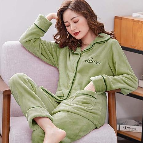 Bayrick Pijamas Mujer Invierno Polar,Pijama de Terciopelo ...