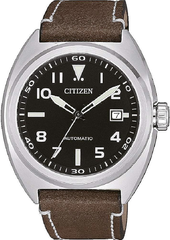 Citizen Reloj Analógico para Hombre de Automático NJ0100-11E