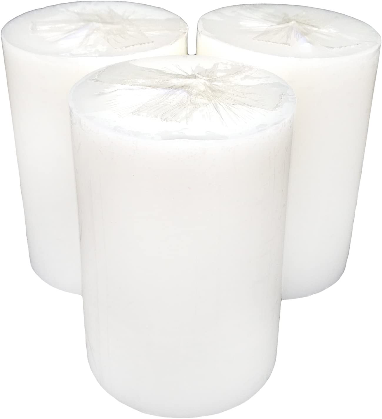 Pack de 2 velas negro 30/horas Collumino tama/ño 8/x 5,5/cm