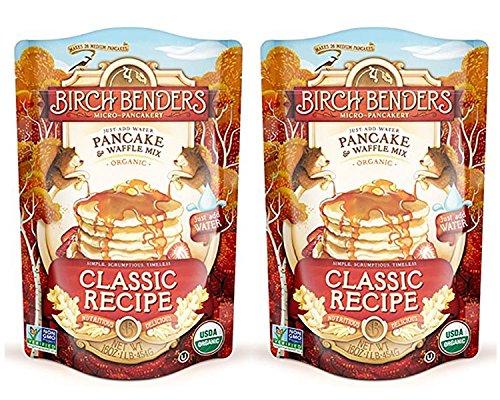 Vegan Pancake Mix - Pack of 2 Birch Benders Pancake & Waffle Mix Bundled by Maven Gifts