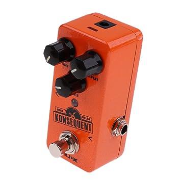 Sharplace Pedal de Efectos NUX NDD-2 Guitarras Coro Fabricado en Aluminio Procesador Efectos de Reverberación Digital para Guitarras Eléctricas: Amazon.es: ...