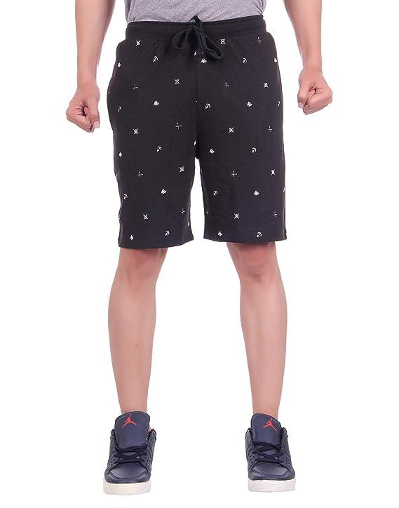DFH Men's Cotton Shorts Men's Shorts at amazon