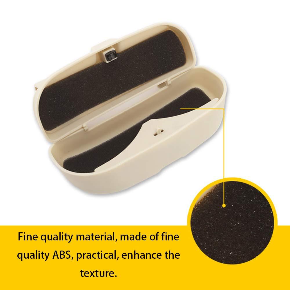 Kshzmoto Brillen Clip Case Organizer Box Sonnenbrillen Halter Aufbewahrungstaschen f/ür Renault Duster