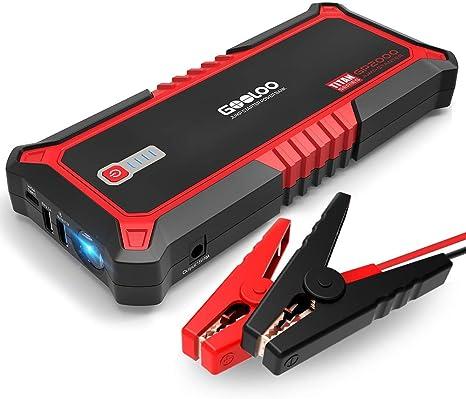Amazon.com: Gooloo - Iniciador de vehículo, batería portátil ...