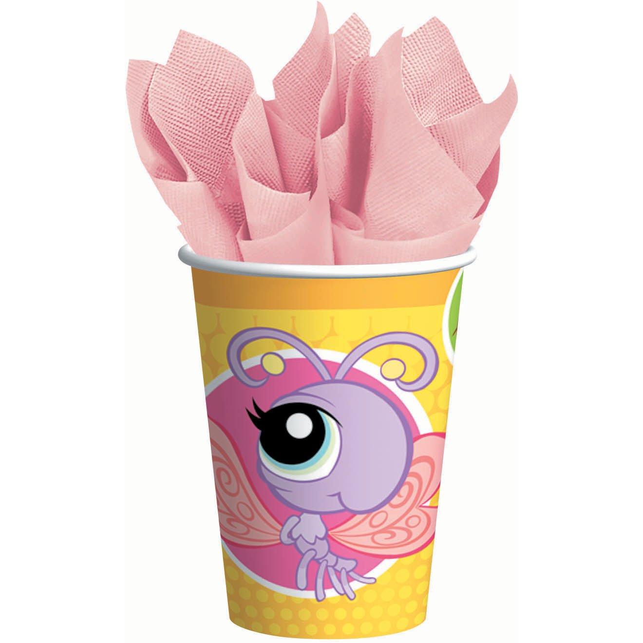 promociones de equipo Designware Designware Designware Littlest Pet Shop 9 oz Cups - 8 ct  ventas directas de fábrica