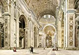 Wentworth Interior of St Peter's, Rome 500 Piece Wooden Jigsaw Puzzle