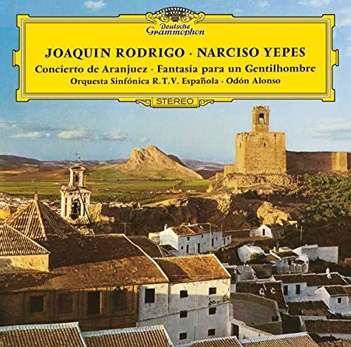 Price comparison product image Joaquin Rodrigo: Concerto De Aranjuez-Fantasia Para Un Gentilhombre [LP]