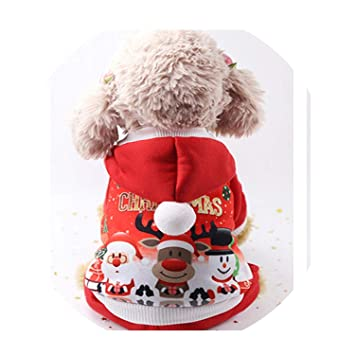 Amazon.com : Fanatical-Night Christmas Cat Clothes Pet Dog Cat Costume Santa Claus Costume Winter Christmas Pet Coat, Burgundy, XS : Pet Supplies