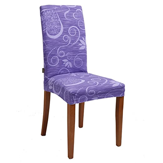 89 opinioni per Joker Coprisedia vesti sedia millerighe elasticizzato 2 pezzi linea Cuori L671
