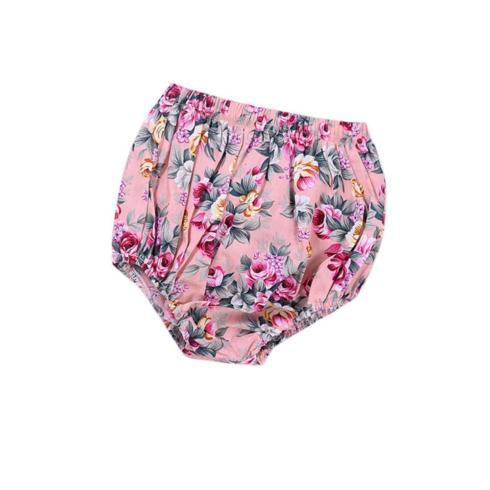 Sumen Baby Kids Girls Boys Floral Pants Bloomers Pattern Short Pants Briefs china