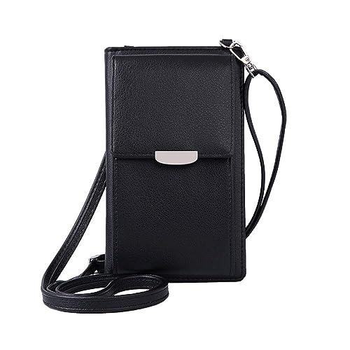 c2720a7513f6f VIVI MAO Summer Small Crossbody Bag, Cell Phone Purse Wallet with 2  Adjustable Shoulder Strap