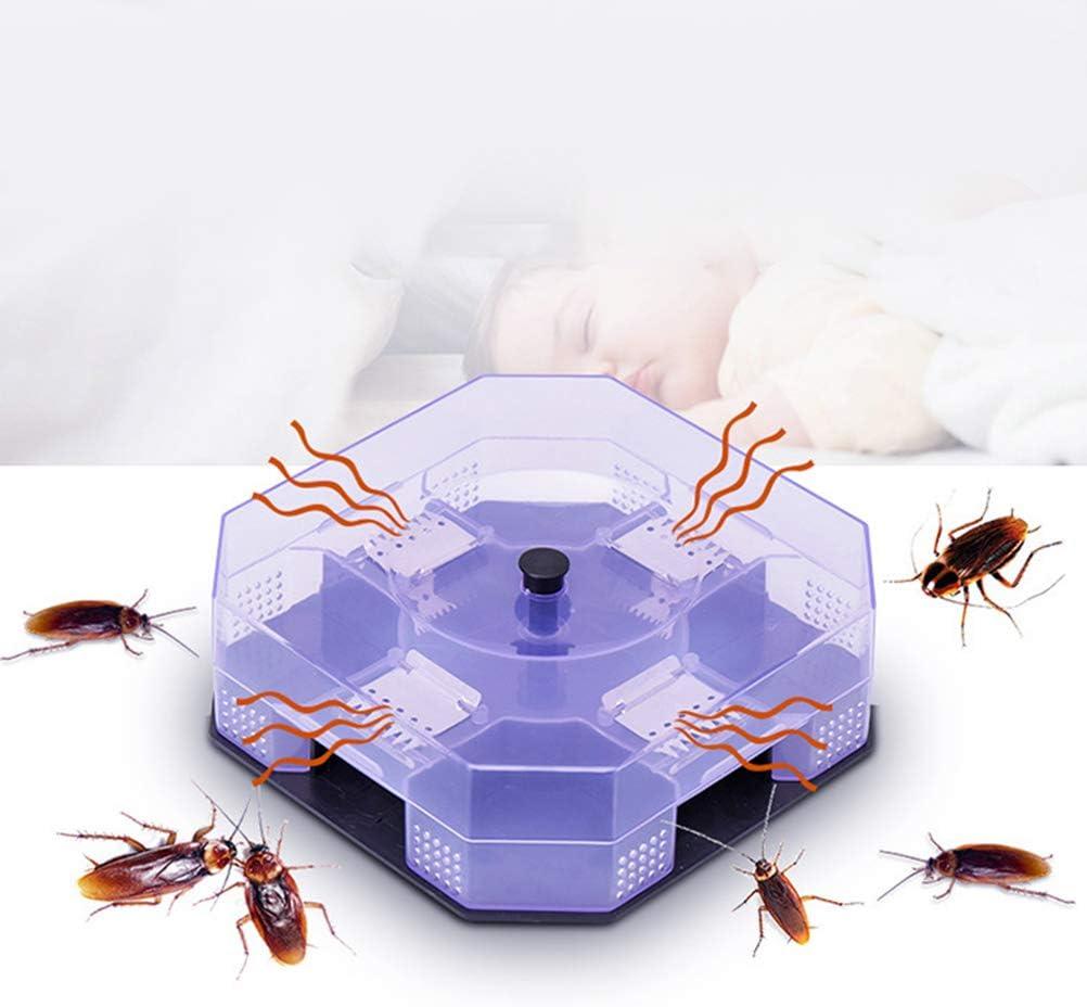 UPKOCH 4PCS Efficient Roach Cockroach Catcher Box Reusable Non-Toxic and Eco-Friendly Physical Cockroach Killer