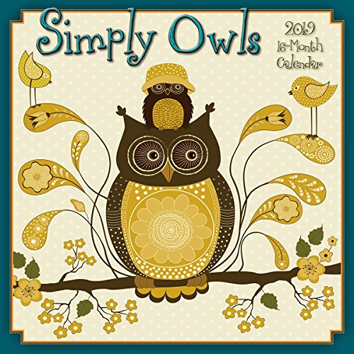 Simply Owls 2019 Wall -