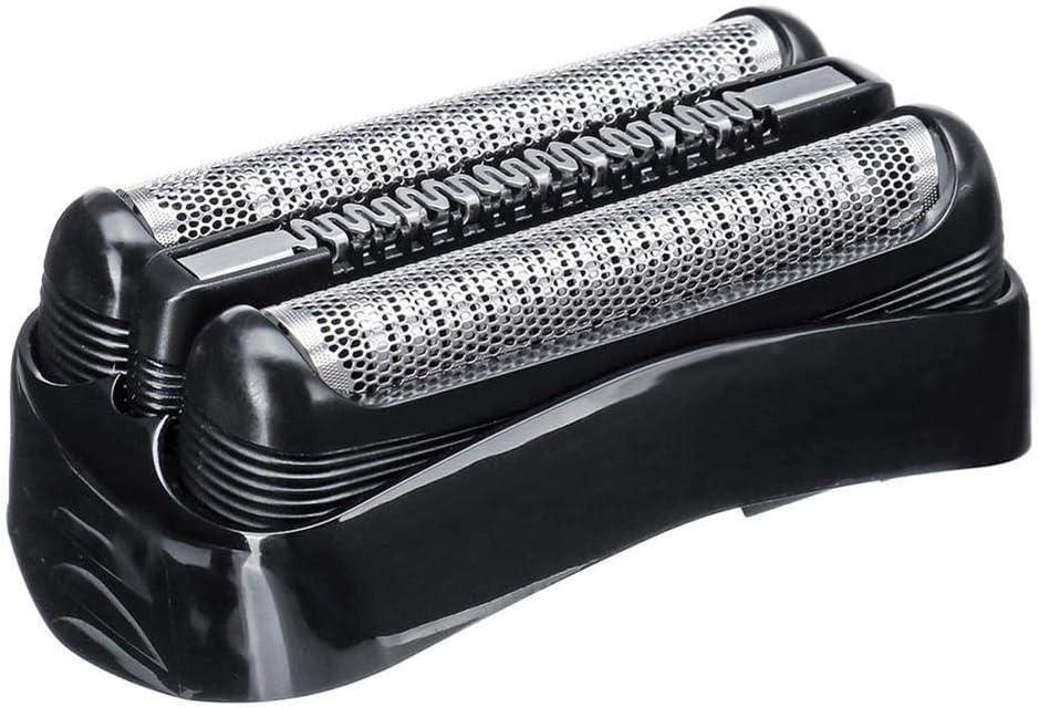 Knowled Cabezales de Repuesto para Braun Series 3 afeitadoras eléctricas, para Braun 300S 301S 310S 320S 330S 340S 360S 380S 3000S 3010S 3020S 3030S 3040S 3080S 350CC 370CC 390CC 3050CC 3090CC Cruzen6