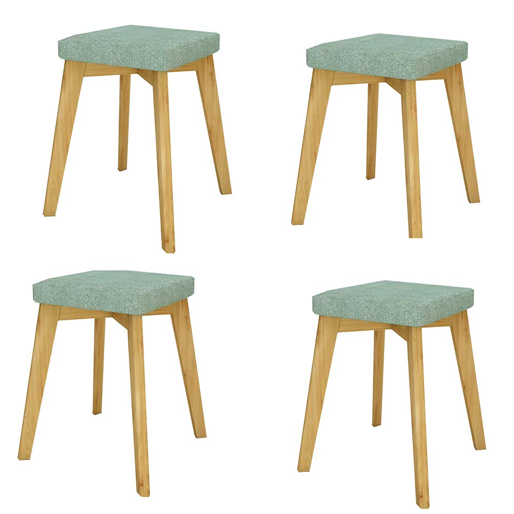 Style-2 Set of 4 YXX-Dining chair Modern Upholstery Dining Side Chair Wood, Home Bedroom Computer Chairs Lounge Chairs (color   Style-2, Size   Set of 1)