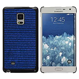 MOBMART Carcasa Funda Case Cover Armor Shell PARA Samsung Galaxy Mega 5.8 - Horizontal Denim Drawn Lines