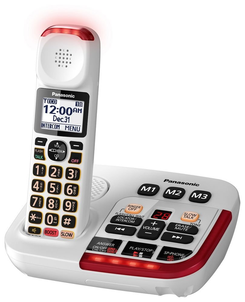 Panasonic KX-TGM420W Amplified Cordless Phone (3 Handsets) by Outlet Dealers (Image #2)