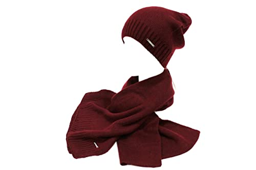 Laura Biagiotti Sciarpa e cappello donna donna 20254 bordeaux  Amazon.it   Scarpe e borse 89fac7fdffb7
