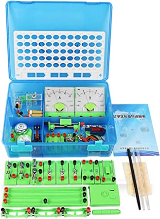 LPxdywlk Circuito Equipo De Experimento Conjunto Físico Experimento Electromagnético Caja Circuito Kit De Aprendizaje Electromagnético Herramienta De Educación para Estudiantes: Amazon.es: Hogar