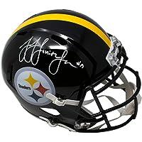 $225 » JuJu Smith Schuster Pittsburgh Steelers Signed Autograph Full Size Speed Helmet JSA…