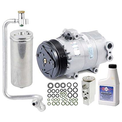 Nueva Original AC Compresor & embrague + a/c Kit de reparación para Pontiac Vibe