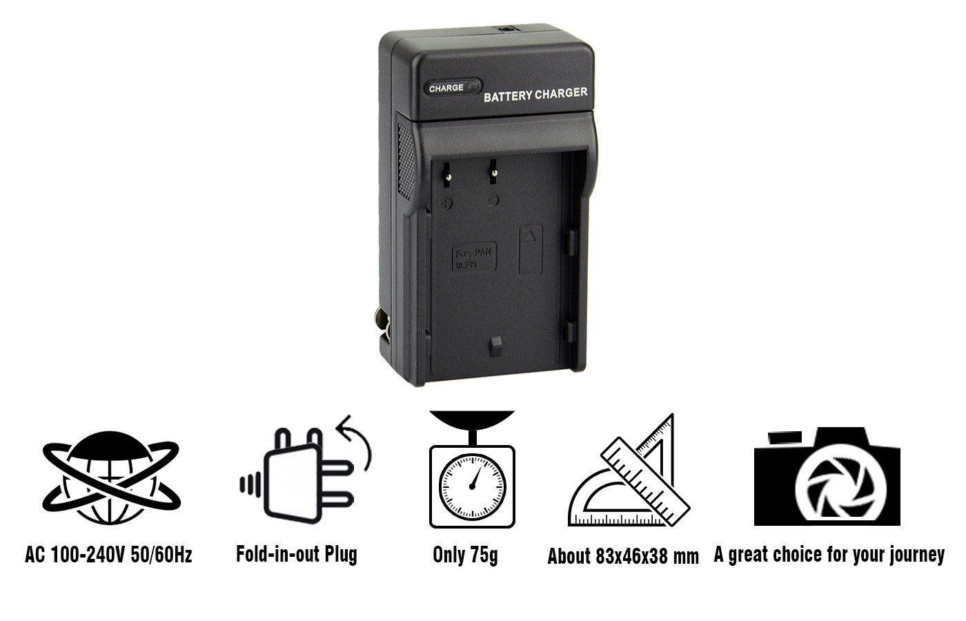 Dste Dmw Blf19 Blf19e Dc141 Travel Charger Kit For Wasabi Battery Panasonic Gh3 Gh4 Gh5 Lumix Dmc Dc G9gk K G9 Digital Camera As Btc10