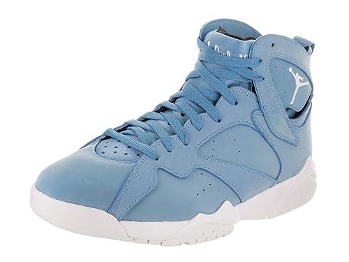 online store deaee 10159 Jordan Men s Air 7 Retro, University Blue White-White-Black, 8