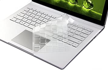 TPU Protector 2017//2018 Released XISICIAO Premium Ultra Thin Keyboard Cover for Microsoft Surface Laptop//Surface Laptop 2// Surface Book 2 US Layout//Thin Waterproof Silicone Keyboard Skin