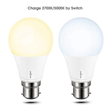Sengled Smart Bombilla LED Inteligente y Estándar 60 Casquillo B22 Edison, 60 W, Cambio