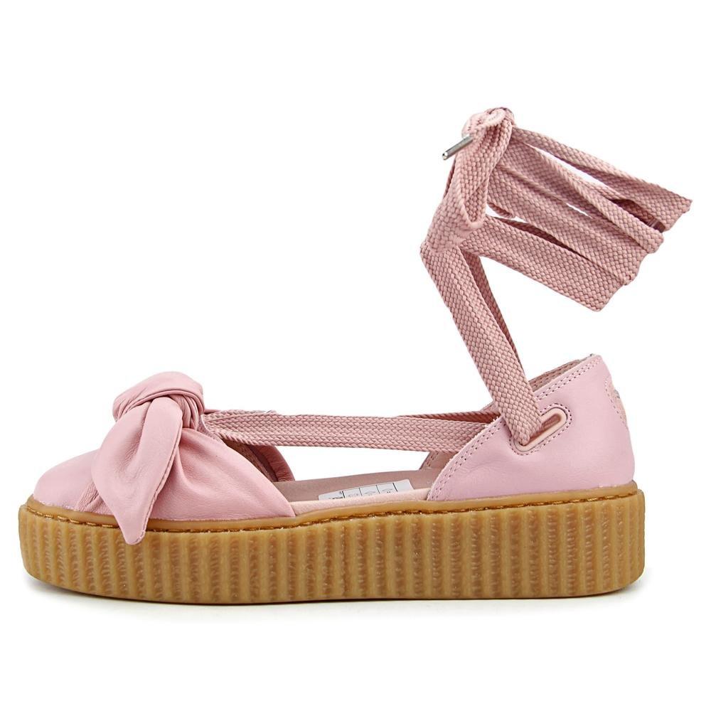d72b69f4f5fe1 Puma Bow Creeper Sandal Donna US 5.5 Rosa Sandalo con la Zeppa  Amazon.it   Scarpe e borse