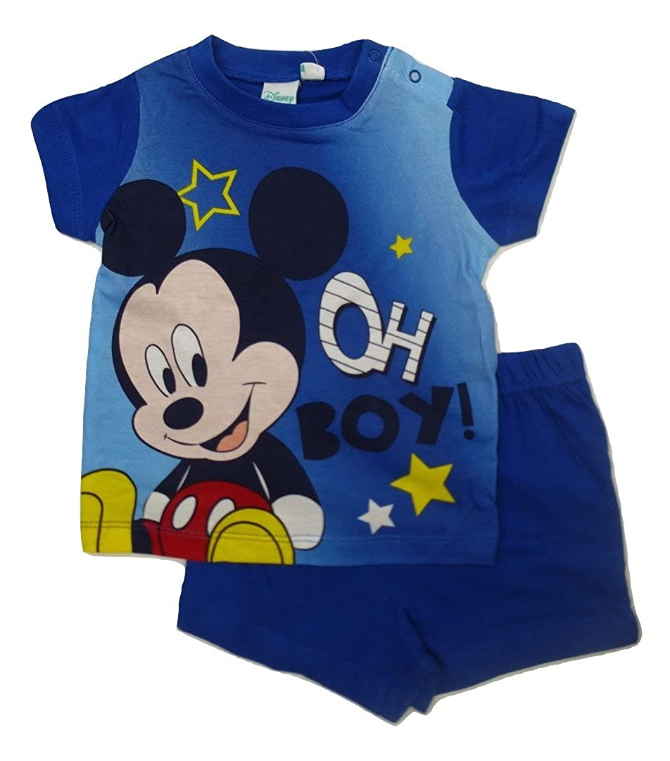 aac418a18 Mickey Mouse - Pijama entero - para bebé niño: Amazon.es: Ropa y