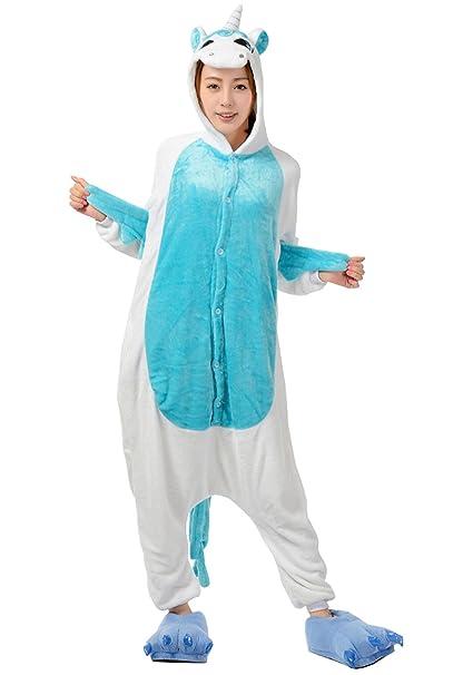 bbbf17e963 DaBag Pigiami Interi Animali Pigiama Con Cappuccio Cartone Animato  Sleepwear Carina Servizio a Domicilio Casual Vestaglie