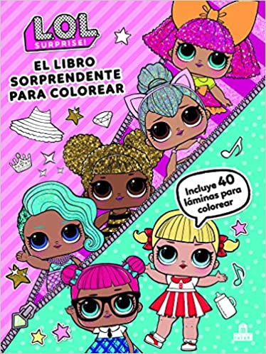 Lol Surprise El Libro Sorprendente Para Colorear Amazon Es Vv Aa