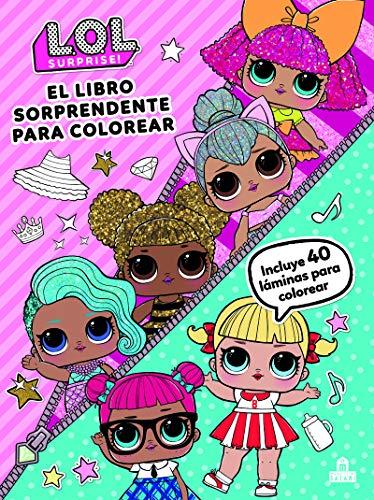 Comprar Libros para Colorear lol surprise - Muñecas Lol para colorear