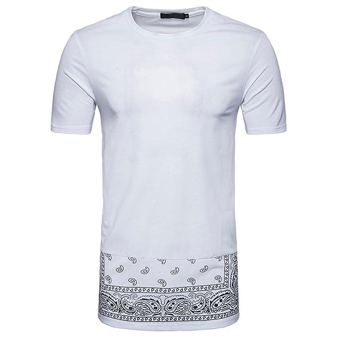 Promoción Pollover Camiseta niños Tees Camiseta Térmica de Compresión Moda Manga Corta para Hombres Casual Slim Camiseta Impresa Parte Superior Blusa ...